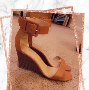 Ankle Strap Wedged Sandal